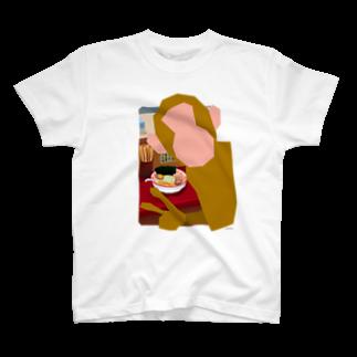 ドローラインの猿道(ラーメン)Tシャツ