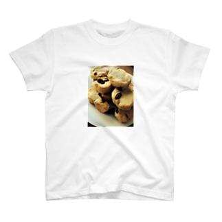 レーズン入りクッキー Tシャツ