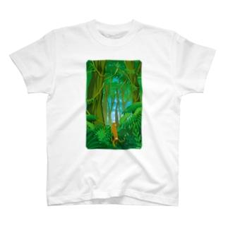 猿道(ジャングル) Tシャツ