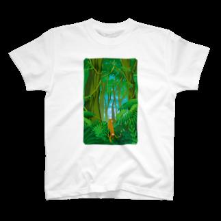 ドローラインの猿道(ジャングル) Tシャツ