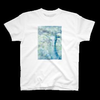 okanoxnekoのキリンTシャツ