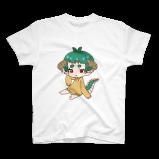まろまゆ族 Tシャツ