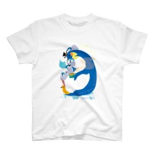 Penguin Tea Time Tシャツ
