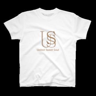 USS Official MerchのUnited Sweet Soul Logo#02 Tシャツ