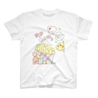 インコpopcorn!! Tシャツ