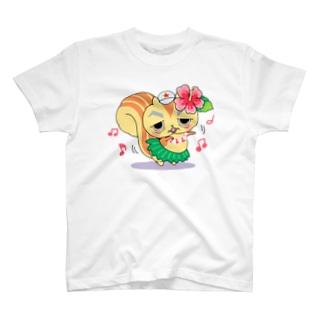リスゴローと踊ろう Tシャツ