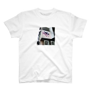 中目黒のインベーダー Tシャツ