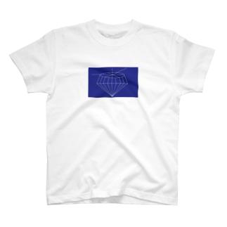 jewelruna dark blue Tシャツ