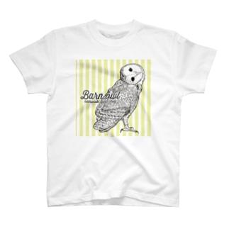 メンフクロウ Tシャツ