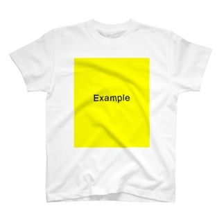 サンプル T です Tシャツ