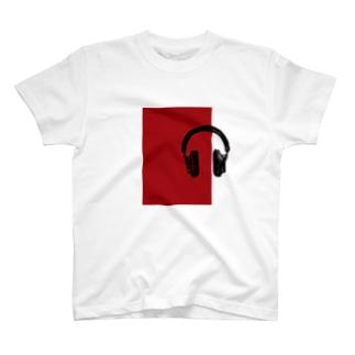 ヘッドフォンR Tシャツ