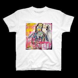 DoiMayumiのPOP ART(I am I)Tシャツ