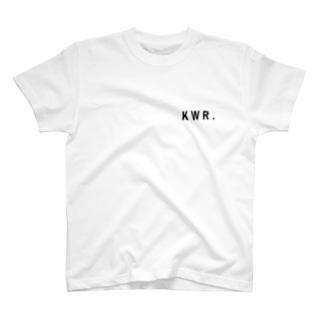 KWR.ロゴ Tシャツ