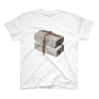 くさりブロック Tシャツ