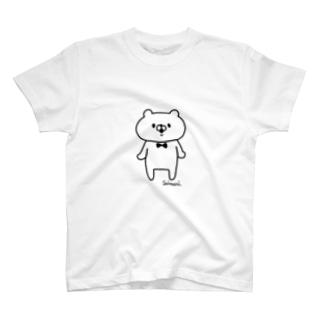 会話にクマを添えましょう Tシャツ