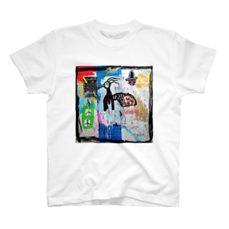 POP ART(MAN IN THE MIRROR) Tシャツ