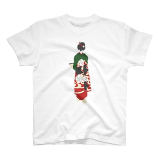 retro usiro Tシャツ