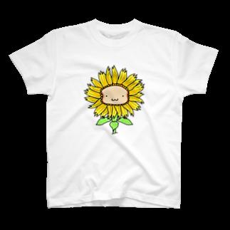 WINGLAYのひまわりーんTシャツ