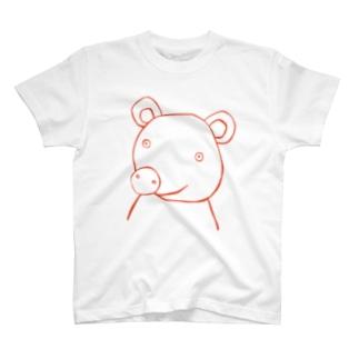 クマ1 Tシャツ