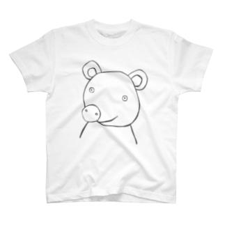 クマ2 Tシャツ