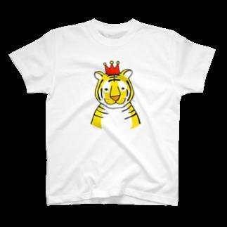 motoko torigoeのトラ2Tシャツ