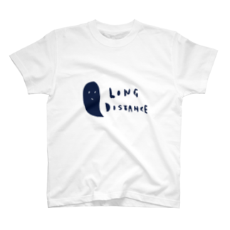 long distance (ghost) Tシャツ
