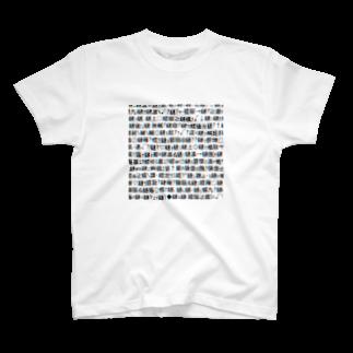 レオナのMojibake(Cyberpunk mix)Tシャツ