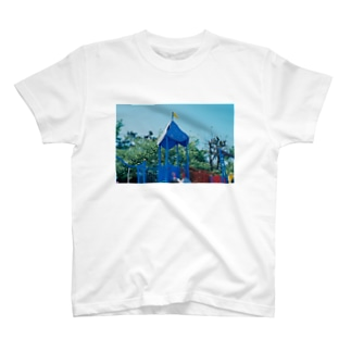ブルー Tシャツ
