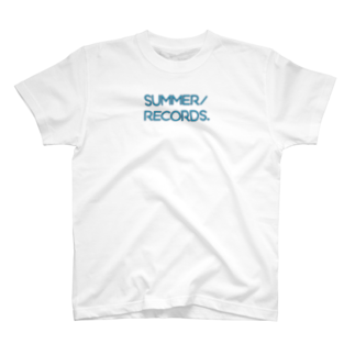 summer records Tシャツ
