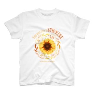 ひまわり Tシャツ