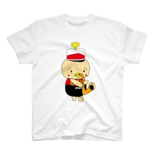 オンパ サックス Tシャツ
