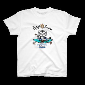 Acabane* ShopのEnjoy SummerなトラオTシャツ