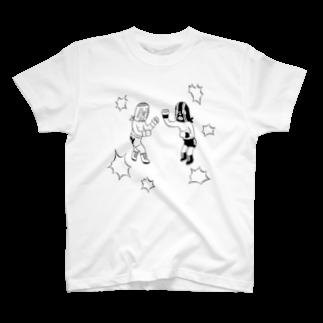 mohioのルチャリブレTシャツ