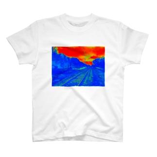 ポーランドの線路2 Tシャツ