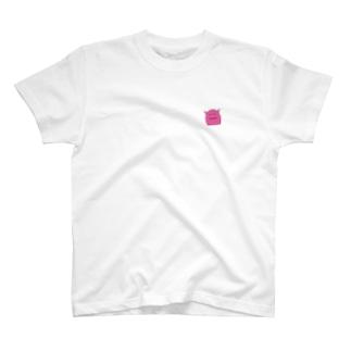 もにちゃん(ピンク) Tシャツ