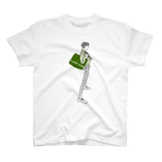 """""""Green"""" いけめんファッショニスタ Tシャツ"""