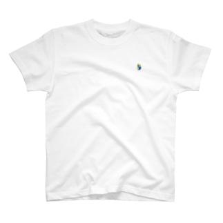 セキセイインコブルー Tシャツ