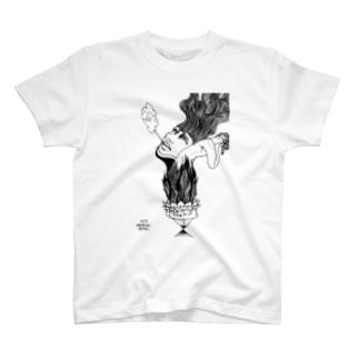 ペン画シリーズ*006 Tシャツ