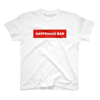 HAPPENING BAR RED Tシャツ