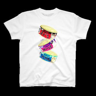 cheeの猫缶3個パックTシャツ