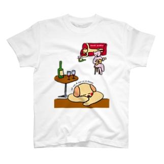 飲んだくれ Tシャツ