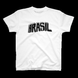 tocaiのBRASIL no.7Tシャツ