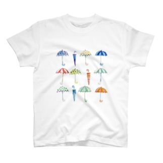 雨傘 Tシャツ