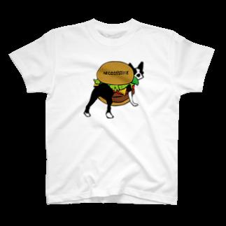 NICO25'S TIMEのボステリバーガーTシャツ