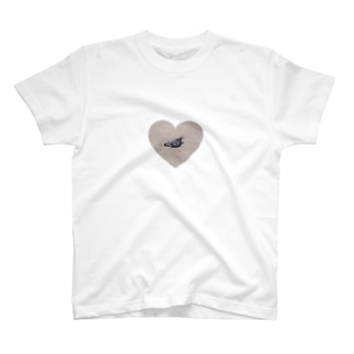 アイラブはと Tシャツ