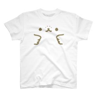 かんザラシフェイス Tシャツ