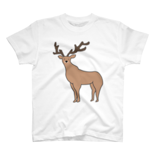 エゾシカ Tシャツ