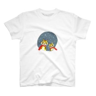 ぱぱとらことら Tシャツ