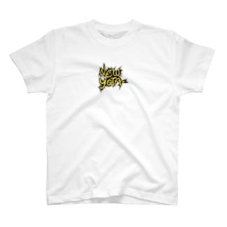 NEW YOTA LOGO5 Tシャツ
