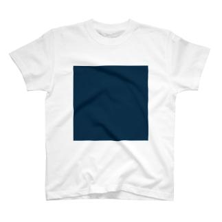藍色(15, 50, 75) Tシャツ